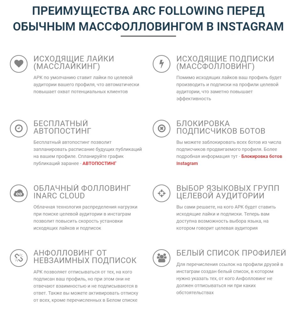программа массфолловинга в Инстаграм